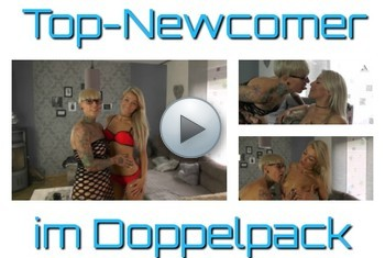 AbyAction: Top Newcomer im Lesbo Doppelpack