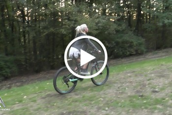 AbyAction: Dildoride mit Mountainbike