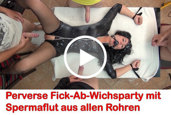 Alexandra-Wett: Wehrlos! Gefesselt! Fick-Fleisch zum Abwichsen und ficken!