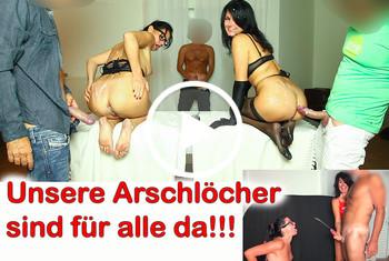 Alexandra-Wett: Best of perverse Stief-Schwester. Literweise Sperma aus allen Löchern