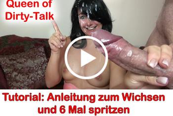 Alexandra-Wett: Tutorial! Anleitung zum Wichsen und 6 Mal Spritzen
