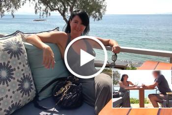 Alexandra-Wett: Glück im Unglück! Perversen Psychospritzer angesprochen