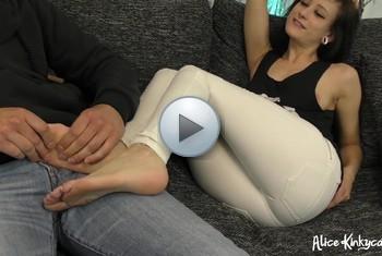 AliceKinkycat: After Shopping Massage mit HappyEnd