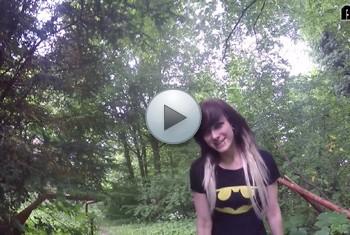AliceKinkycat: Pee at Lost Place