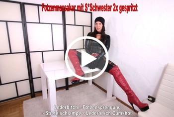 AnnabelMassina: Fotzenmassaker mit Stiefschwester und 2x gespritzt