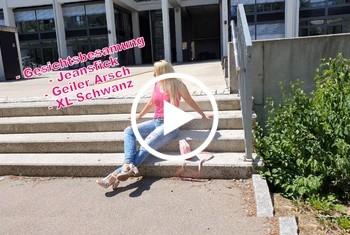 AnnabelMassina: Fickgeile Kollegin treibts mit jedem - Gesichtsbesamung