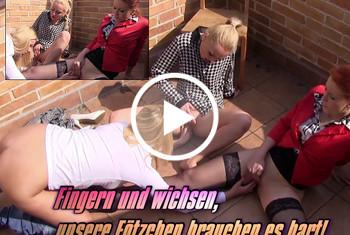 Blonde-Babes: Fingern und wichsen, unsere Fötzchen brauchen es hart!