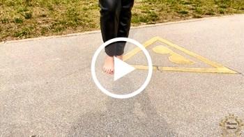 Contessa-Claudia: Barfuß Walk - Vergöttere meine Füße