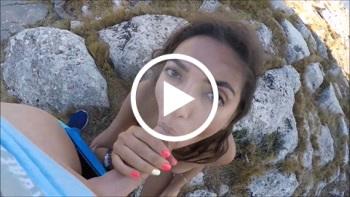 DonJohnXXX: Mega geiles Girl auf dem Berg auf 3000 Metern gefickt