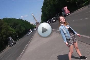 DonJohnXXX: 18 jähriges touri girl in berlin mit schwarzen kumpel im tiergarten gefickt