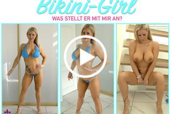 Fitness_Maus: BIKINI-GIRL! Was stellt er mit mir an?