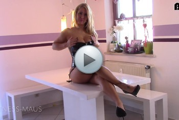 Fitness_Maus: HURE-DELUXE in LACK! Dirty-Talk