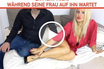 Fitness_Maus: Er FICKT MICH, WÄHREND SEINE FRAU AUF IHN WARTET! Dirty-Talk