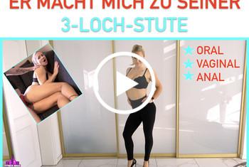 Fitness_Maus: ER MACHT MICH ZU SEINER 3-LOCH-STUTE!