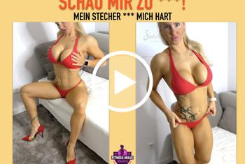 Fitness_Maus: SCHAU MIR ZU CUCKOLD! MEIN STECHER FICKT MICH HART! Dirty-Talk