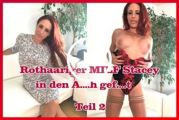 German-Scout: Rothaariger MILF Stacey in den Arsch gefickt Teil 2