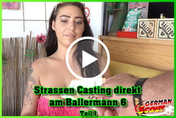 German-Scout: Strassen Casting direkt am Ballermann 6 Teil 1