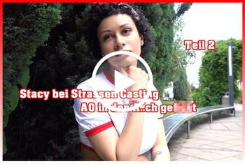 German-Scout: Stacy bei Straßen Casting AO in den Arsch gefickt Teil 2