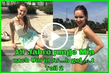German-Scout: 19 Jahre junge Mia nach Uni in Arsch gefickt Teil 2