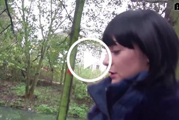 German-Scout: Lullu in Berliner Park gefickt Teil 1