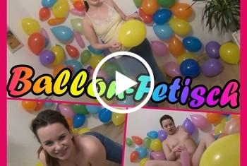 HotMila: Luftballon Fetisch Deluxe