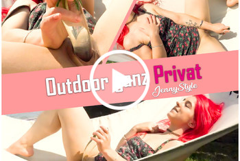 Jenny-Style: Outdoor ganz Privat