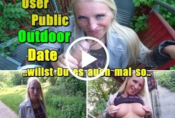 KacyKisha: User Public  Outdoor Date - willst Du es auch mal so