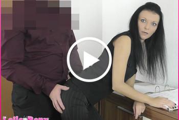 Laila-Banx: Azubine gleich Büro-Nutte?! Begrapscht und als Fickstück benutzt...