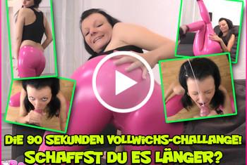 Laila-Banx: Die 90 Sekunden Vollwichs-Challenge! Schaffst Du es länger?