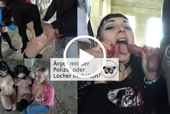LeahObscure: Ärger mit der Polizei oder Löcher hinhalten?!