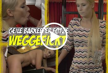 LenaNitro: Geile Barkeeper-Fotze WEGGEFICKT