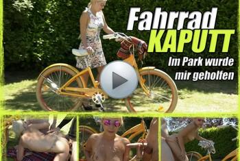 LenaNitro: Fahrrad KAPUTT - Im Park wurde mir geholfen