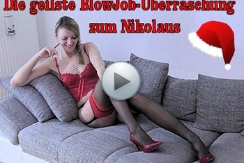 LissLonglegs: Die geilste BlowJob-Überraschung zum Nikolaus