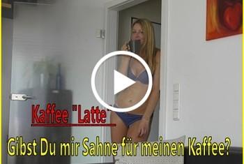 LissLonglegs: Kaffee Latte - Gibst Du mir Sahne für meinen Kaffee
