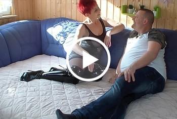 MelissaDeluxe: Fick mich Hart und gib mir dein Sperma Nachbar! AO