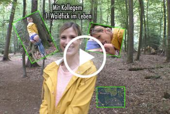 MellyBunnyLuder: 1.Waldfick mit Kollegem in meinem Leben