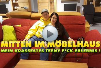 QueenParis: Mitten im Möbelhaus ! Mein krassestes Teeny Fick-Erlebnis !!!