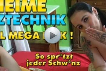 QueenParis: Geheime Spritztechnik nach XXL User-Fick ! So spritzt jeder Schwanz !!!