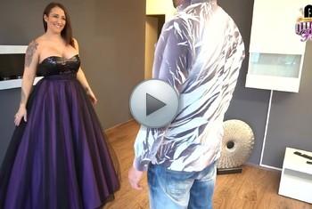 QueenParis: Skrupellos ! Fick mich im Brautkleid Deiner Frau...