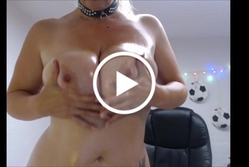 Sandybigboobs: Pussytime and Oilshow