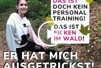 Sina-Valentini: IIM WALD GEFICKT! JOGGER TRICKST MICH AUS! POV!