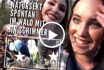 Sina-Valentini: NATURSEKT SPONTAN IM WALD MIT JIN-SCHIMMER