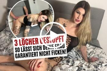 Sina-Valentini: 3 LÖCHER GESTOPFT! SO LÄSST SICH DEINE FRAU GARANTIERT NICHT FICKEN!