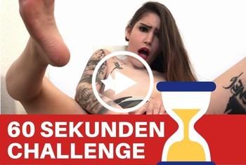 Sina-Valentini: 60 SEK CHALLENGE! SCHAFFST DU DAS?