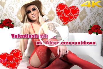 Tight-Tini: Valentinsfick mit Abspritzcountdown - 4K