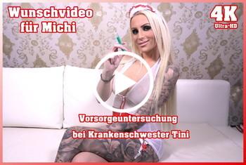 Tight-Tini: Wunschvideo für Michi - Vorsorgeuntersuchung bei Krankenschwester Tini 4K