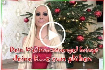 Tight-Tini: Dein Weihnachtsengel bringt deine Rute zum glühen
