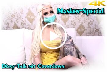 Tight-Tini: Masken-Special - Dirty-Talk mit Countdown in 4K