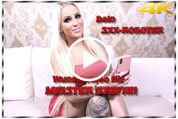 Tight-Tini: Wunschvideo für Meister Stefan - Dein Sex-Roboter in 4K