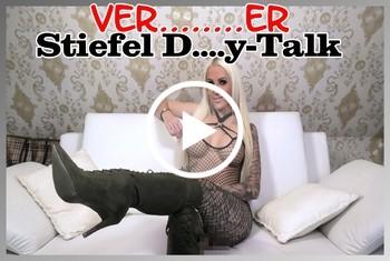 Tight-Tini: Versauter Stiefel Dirty-Talk